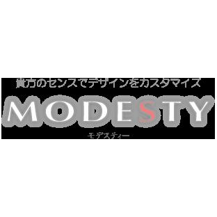 モデスティ(MODESTY)ロゴ