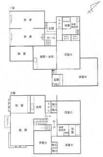 mini_西旭岡町3丁目45-11間取図①