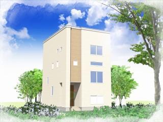 松川町モデルハウスⅢパース(20150325) (2) - コピー